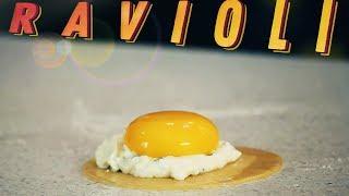 Равиоли с Яйцом и Рикоттой | #Borsch