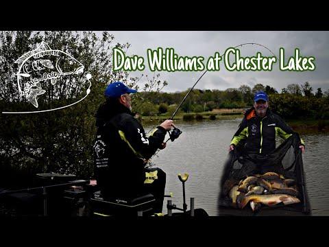 Dave Williams Fishing Chester Lakes Eccleston Pond.