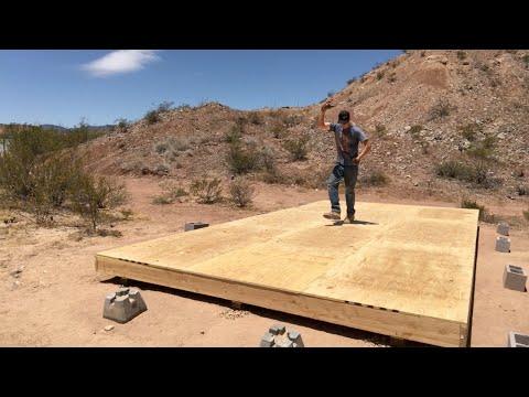 12'x24' DIY Shed Build (Part 1 – Floor)