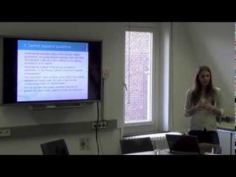 Sarah Van Ruyskensvelde ECS FORUM 06/12/2013