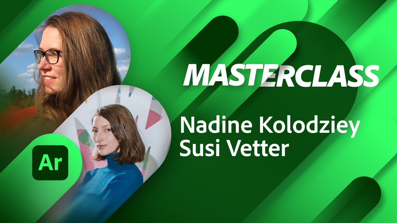 Adobe Aero Masterclass with Nadine Kolodziey and Susi Vetter | Adobe Live