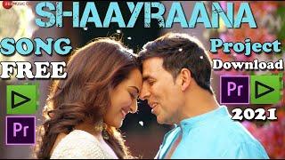 Aaj Dil Shayarana Cinematic Wedding Song Project Download Free