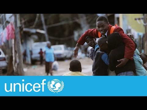 How inspirational South African teen living in poverty turned his life around   UNICEF