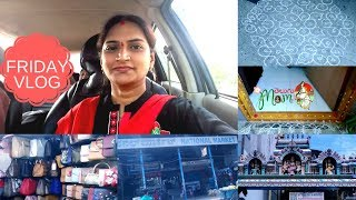 Indian Mom Friday Vlog || Local Shopping Vlog || Temple visit by Telugu Mom