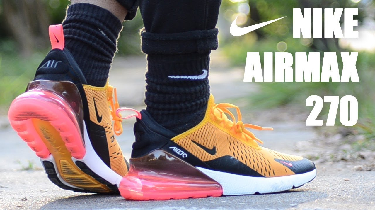 nike air max 270 tiger yellow price