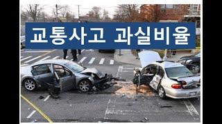 [행정사랑] 교통사고 과실비율 기준