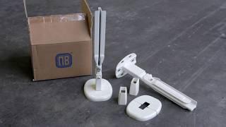 Mensole PK3 per radiatori (piastra in acciaio)