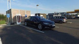 رقم قياسي عالمي جديد لأطوال مسافة مقطوعة بإستخدام سيارة Tesla Model S