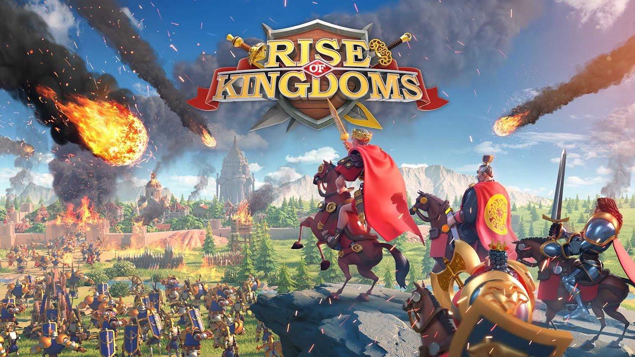 """""""Rise of Kingdoms"""" -70кк на первом квк . Вы не ждали , а мы пришли !!!"""