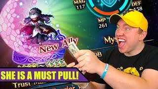 [FFBE] Final Fantasy Brave Exvius - Must Pull 4 Star Base?! I Think YESSS!!