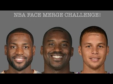 NBA Face Merge Part 1