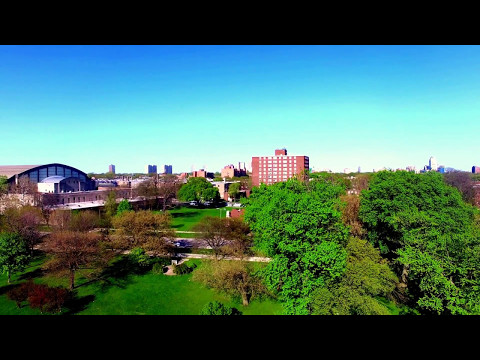 DJI phantom 3 4k, Chicago - Washington park