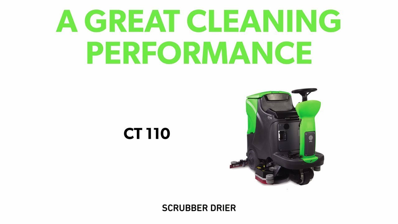 CT 110: a great cleaning perfomance
