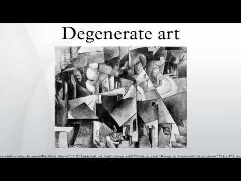 Degenerate art