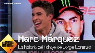 """Marc Márquez del fichaje de Lorenzo por Honda: """"Dos gallos en el mismo corral"""" - El Hormiguero 3.0"""