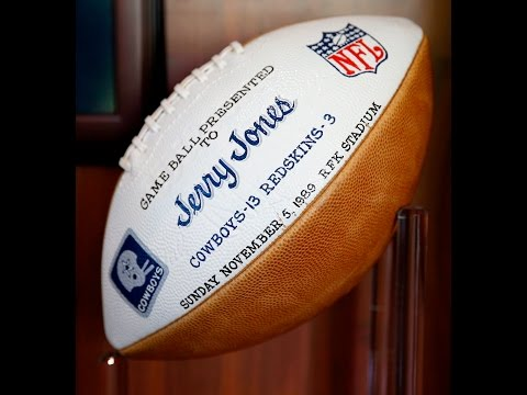 The story behind the game ball from Dallas Cowboys first win under Jerry Jones