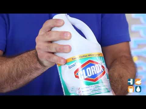 Clorox 30772 Concentrated Bleach, Clean Linen Scent, 64-oz. Bottle