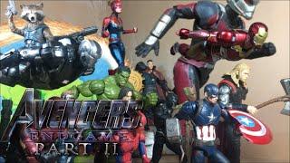 "Avengers Endgame:Part 2 ""Assemble"" stop motion + 10k subs giveaway!"
