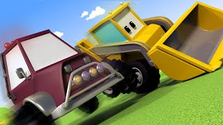 The Naughty Little Car - Learn with Tiny Trucks 👶 Educational Cartoon for Kids