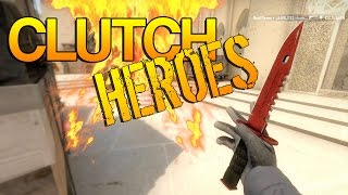 CS:GO - 1vs5 Clutch Heroes! #5