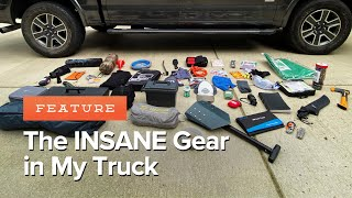 My Truck EDC + GIVEAWAY | Over 89 HIDDEN Items! | Gear for Every Emergency and Adventure