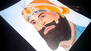 Speed Drawing :Guru Gobind Singh Ji