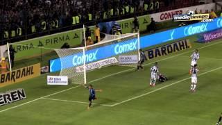Los goles del Querétaro vs Pachuca (2-0)