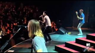 MAROON5 WAKE UP CALL EN MTV WORLD STAGE 2011.