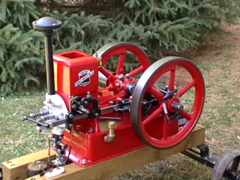 Starting and running my United hit-n-miss engine