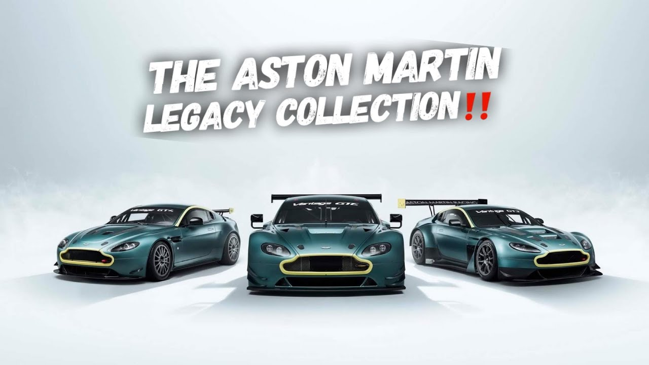 This Is The Aston Martin Vantage Legacy Collection Youtube