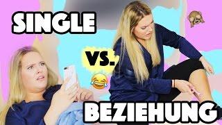 SINGLE vs. in einer BEZIEHUNG | Typische KLISCHEES von MÄDCHEN & JUNGS | Annaxo
