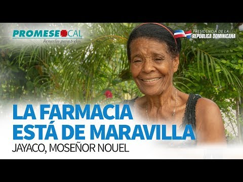 VIDEO: La farmacia está de maravilla. Jayaco, Monseñor Nouel