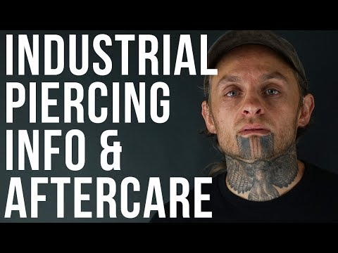 Industrial Piercing Info & Aftercare | UrbanBodyJewelry.com