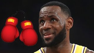 LeBron James Entering The World Of BOXING With A New Show!
