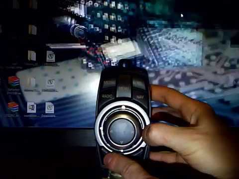 Controlling the Cursor on the computer by using BMW Controller