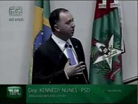 DEPUTADO KENNEDY - PLENÁRIO 01/08/09