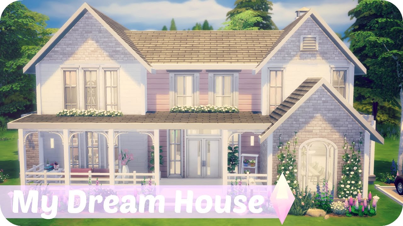 Build My House sims 4 speed build | my dream house | 10k sub special ❤ - youtube