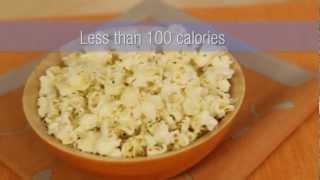 Healthy Snacks: Homemade Popcorn Recipe
