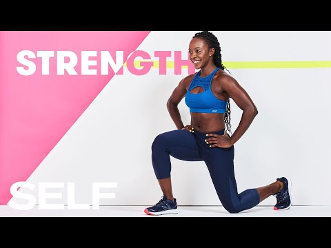 30 Minute Full Body Cardio Strength Building Workout   SELF
