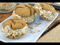Molasses and Salted Caramel Ice Cream Cookie Sandwich | RadaCutlery.com