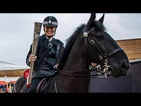 Dancing Horse Trained to Fight Crime