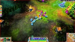League of Legends Weird Flash Icon Glitch