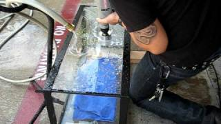 How to EASILY drill through glass