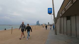 Barcelona June 2021 Spain. Very calm because of the covid