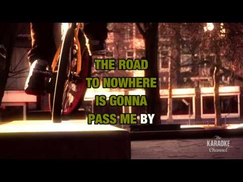 Road to Nowhere in the style of Ozzy Osbourne | Karaoke with Lyrics