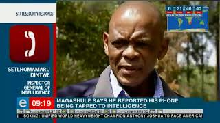 ANC Secretary-General, Ace Magashule alleges phone tapping