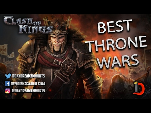 THE BEST THRONE WARS IN ALL OF CLASH OF KINGS