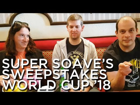 2018-05-20 'Super Soave's Sweepstakes: World Cup 2018'