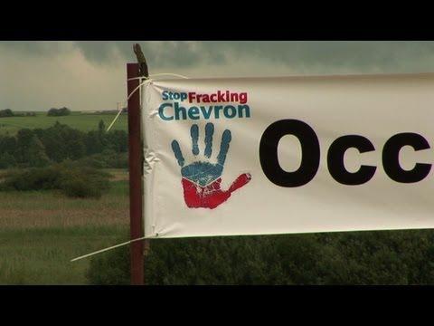 Polish villagers fight against shale gas exploration