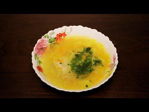 Суп с пшеном и курицей в мультиварке